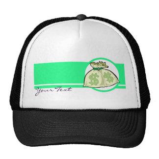 Money Bags design Mesh Hat