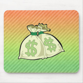 Money Bags design Mouse Pad