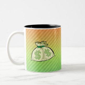 Money Bags design Coffee Mug
