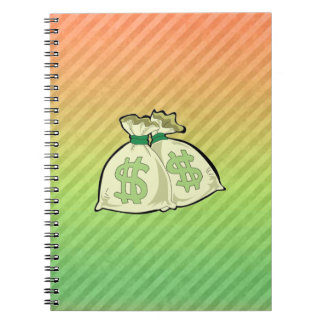 Money Bags design Note Book