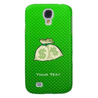 Money Bags; Green HTC Vivid / Raider 4G Cover