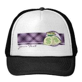 Money Bags; Purple Hat