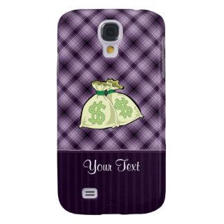 Money Bags; Purple HTC Vivid Cover