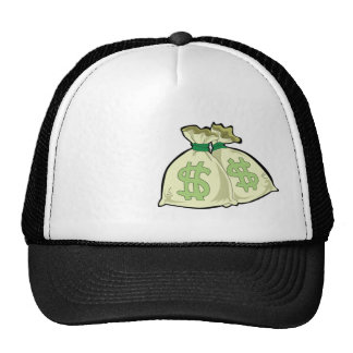 Money Bags; Rugged Trucker Hats