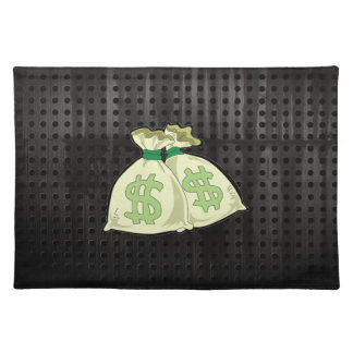 Money Bags; Rugged Place Mats