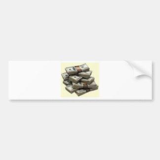 money bumper stickers