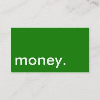 Money Business Card