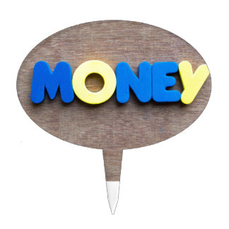 Money Cake Toppers