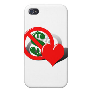 Money Can t Buy My Love iPhone 4/4S Cases