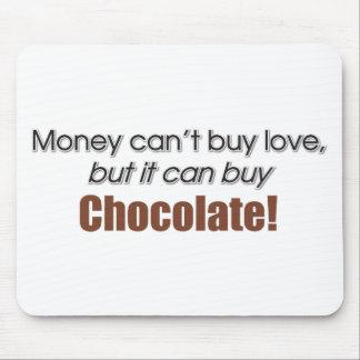 Money & Chocolate Mousepad