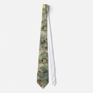 Money: Coins of the world   Photo Pattern Tie