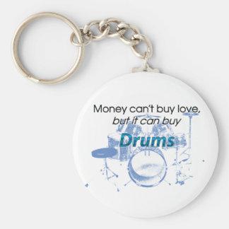 Money & Drums Key Ring