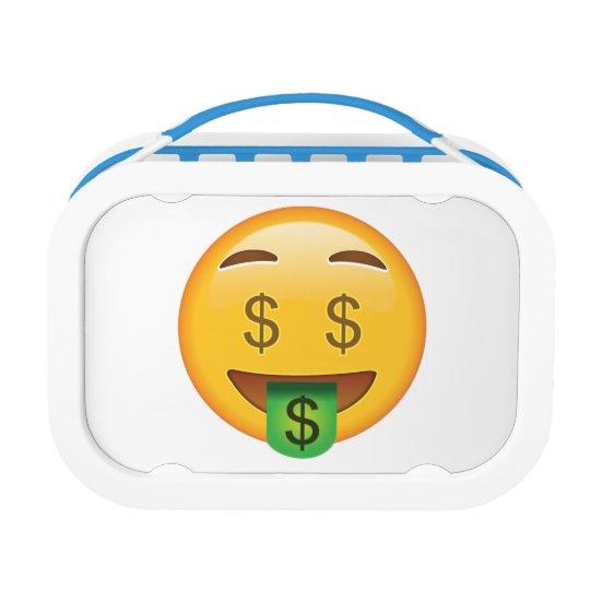 Money Face - Emoji Lunch Box