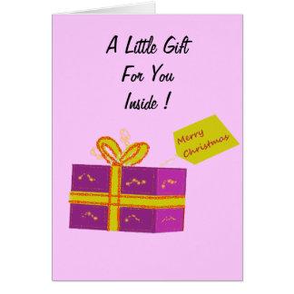 Money Gift Card