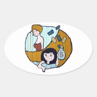 Money girls stickers