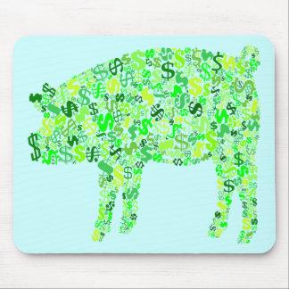 Money Hog Mouse Pad