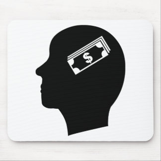Money in Mind Mouse Mat