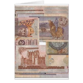 money is flat scottish card