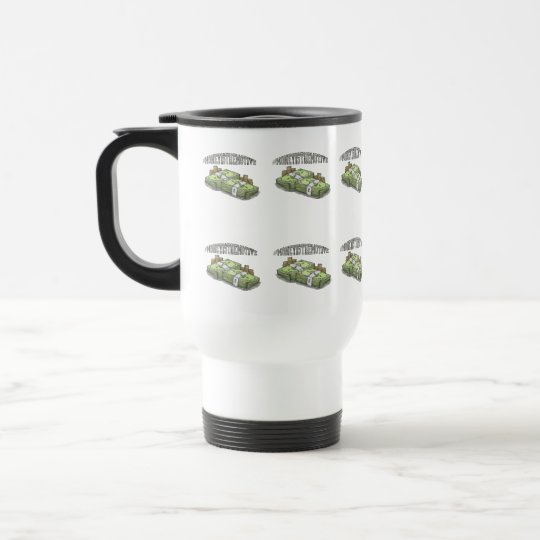 #Money Is The Motive commuter mug