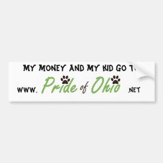 Money & Kids Bumper Sticker