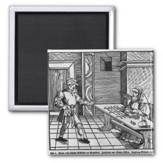Money Lender, 1531 Magnets