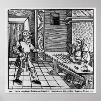 Money Lender, 1531 Poster
