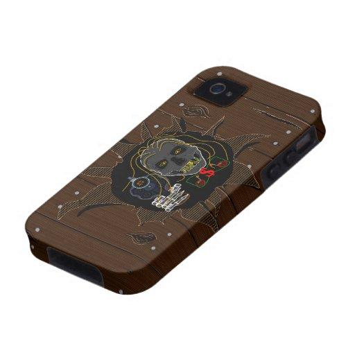 MONEY MACHINE - Hardwood Line iPhone 4/4S Case