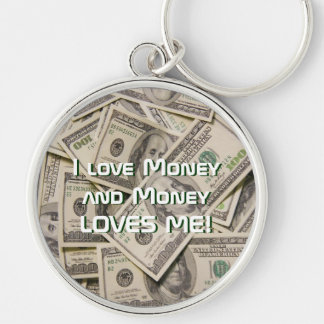 Money Magnet Lucky Premium Keychain