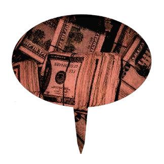 MONEY MONEY MONEY CAKE PICKS