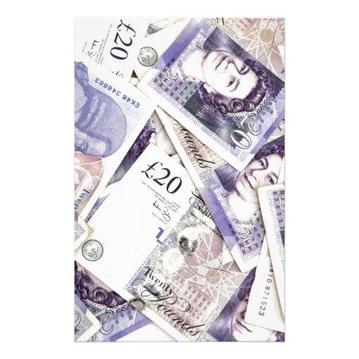 Money, money, money...in a rich man's world stationery