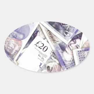Money, money, money...in a rich man's world stickers