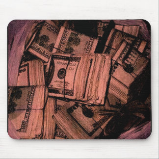 MONEY MONEY MONEY MOUSE PAD