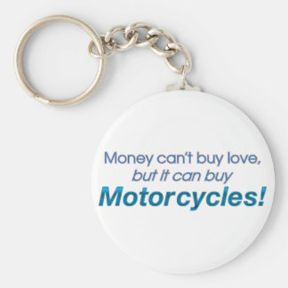 Money & Motorcycles Key Ring