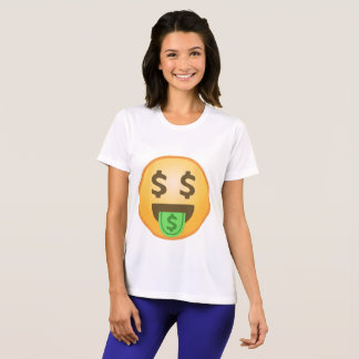 Money Mouth Emoji T-Shirt