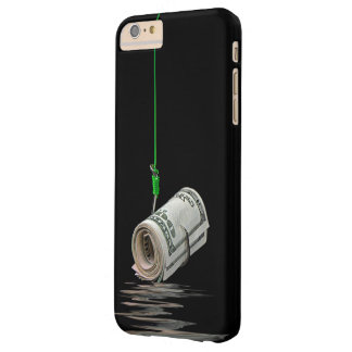 money on fish hook barely there iPhone 6 plus case