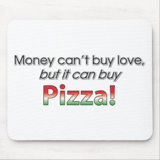 Money & Pizza Mousepad