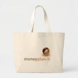 Money Plan-it Large Tote Bag