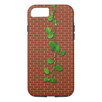 Money Plant on Red Brickwall iPhone 8/7 Case