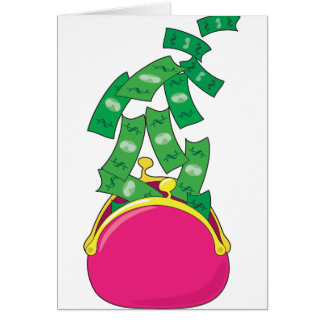 Money Purse Card