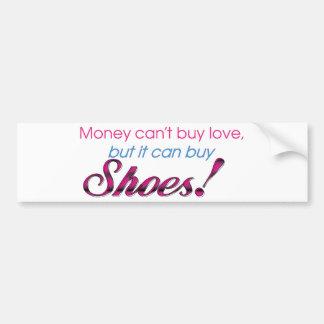 Money & Shoes Bumper Sticker