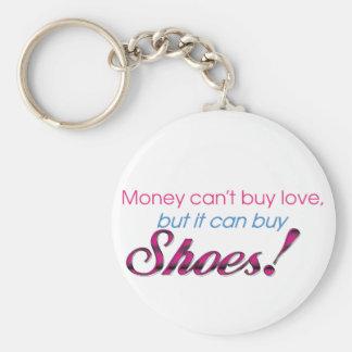 Money & Shoes Key Ring