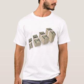 money_stacks_textmedium T-Shirt
