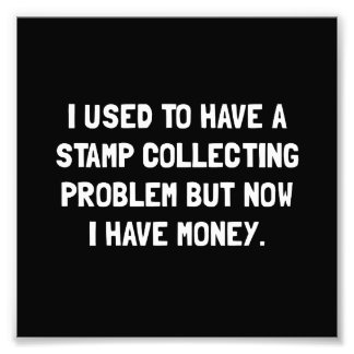 Money Stamp Collecting Problem Photographic Print