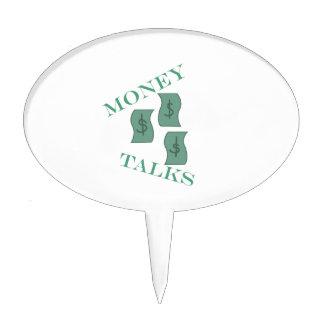 Money Talks Cake Pick