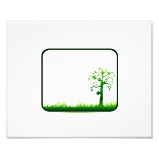 money tree grass rectangle frame graphic.png photo