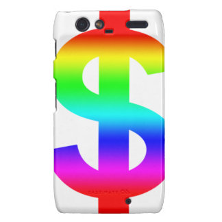 Money US-Dollar Cute Silhouette Anime Motorola Droid RAZR Cases