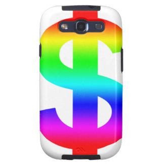 Money US-Dollar Cute Silhouette Anime Samsung Galaxy S3 Covers