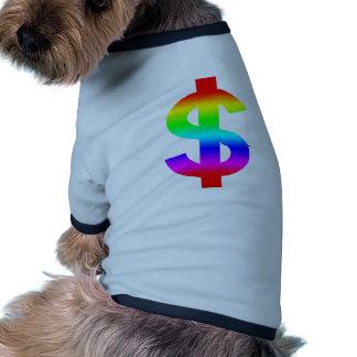 Money US-Dollar Cute Silhouette Anime Dog Clothes