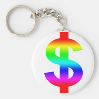 Money US-Dollar Cute Silhouette Anime Keychains