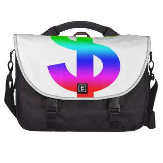 Money US-Dollar Cute Silhouette Anime Commuter Bag